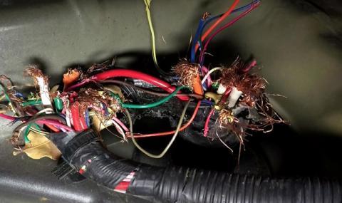 Кой е виновен за прегризаните кабели в автомобила?