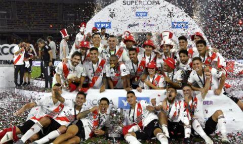 Ривър Плейт спечели Суперкупата на Аржентина с разгром