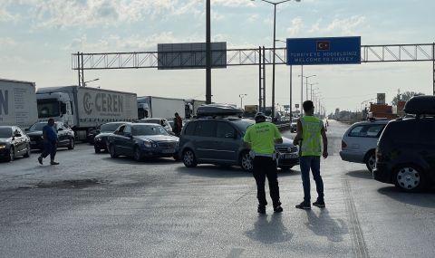 """Полицай загина в катастрофа до ГКПП """"Капитан Андреево"""" - 1"""
