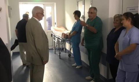 Заплатите в областните болници се вдигат с до 250 лева