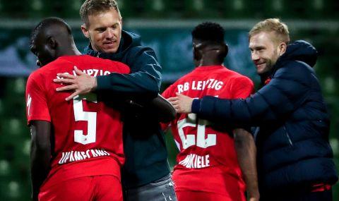 РБ Лайпциг се добра до финала за Купата на Германия след драма срещу Вердер Бремен