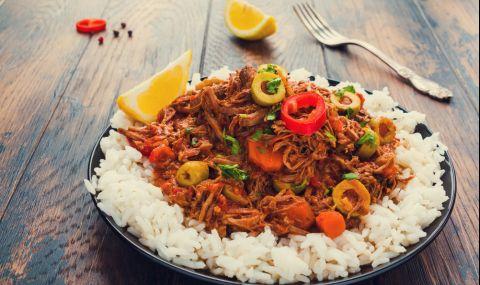 Рецепта за вечеря: Ропа Виеха - телешко задушено със зеленчуци