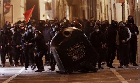 Сблъсъците в Испания не спират
