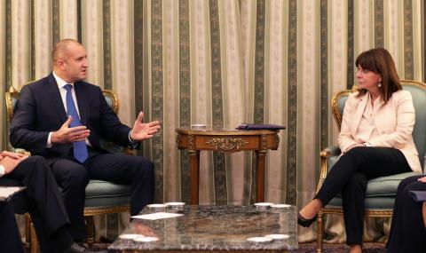 Румен Радев: България и Гърция са пример, че на Балканите може да има мир