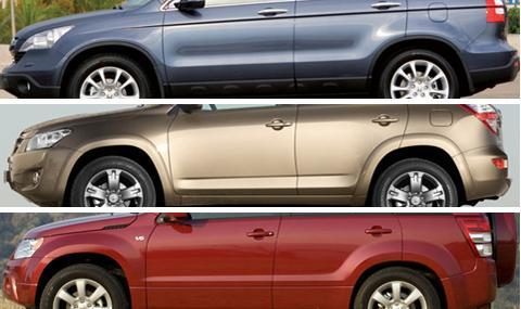 Трите най-надеждни употребявани японски SUV-та до 15 000 лв.