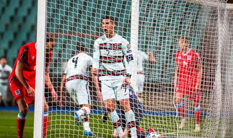 Интересно постижение за Кристиано Роналдо