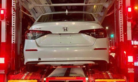 Предпремиерно: Ето я новата Honda Civic - 2