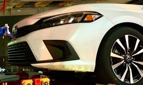 Предпремиерно: Ето я новата Honda Civic - 3