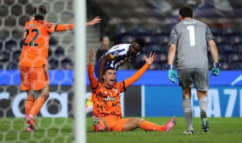 Роналдо прекъсна свой рекорд при загубата от Порто