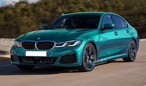 Какво ново ще донесе обновеното BMW 3 Series