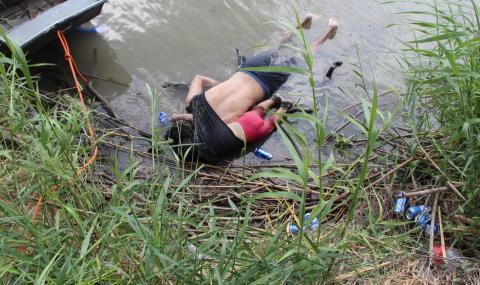 Баща и дъщеря му се удавиха, мечтаейки за Америка