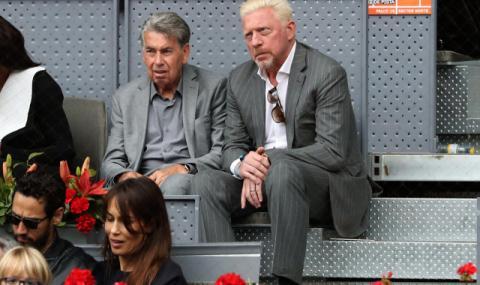 Чорапи спасяват Борис Бекер от банкрут