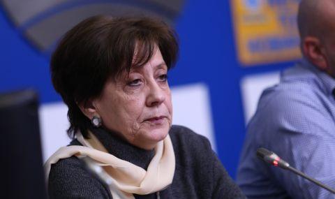 Ренета Инджова: Партиите на протеста се самообявиха за такива - 1