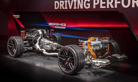 Mercedes разкри мощността на четирицилиндровото C63 AMG - 1