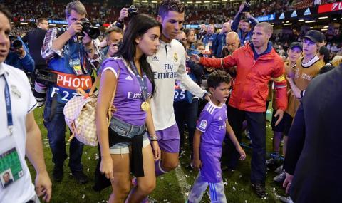 Кристиано Роналдо с нова радост