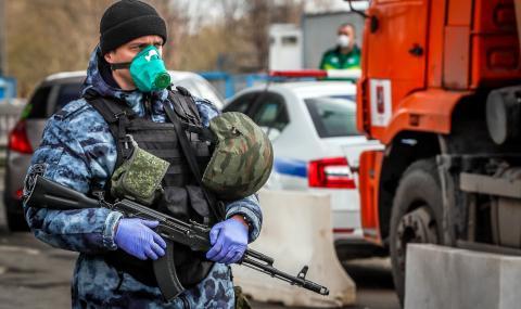 28 000 заразени в Русия, половината са в Москва