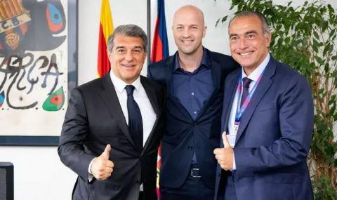 Синът на Йохан Кройф се завърна в Барселона