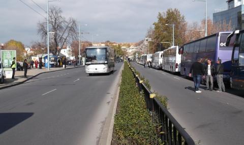Война между превозвачи в Пловдив