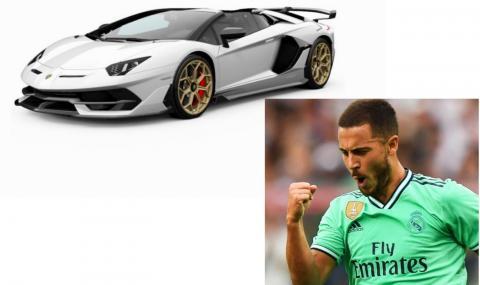 Еден Азар си купи автомобилен звяр за половин милион евро