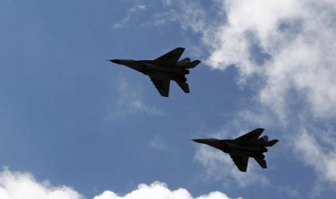 Наши ВВС проверявали за руска активност в Черно море