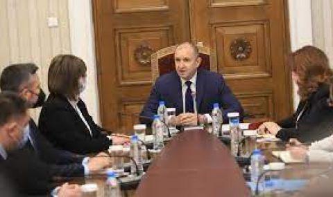 Радев провежда консултации с парламентарно представените партии - 1