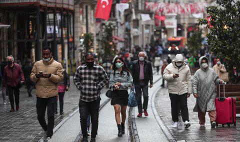 Рекорден брой заразени в Турция за ден