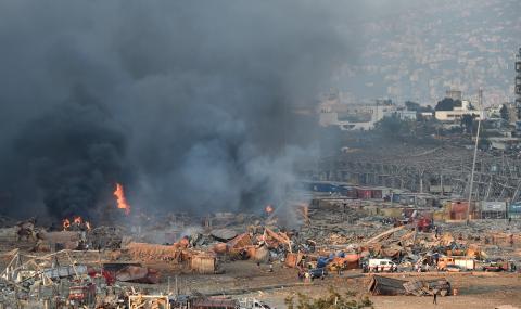 Апокалипсис в пристанището на Бейрут