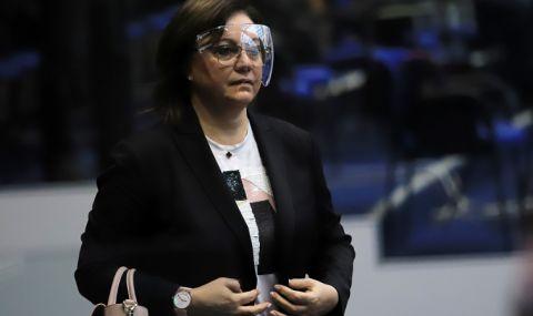 Нинова: Ще решим след изборите дали Радев ще е нашият кандидат