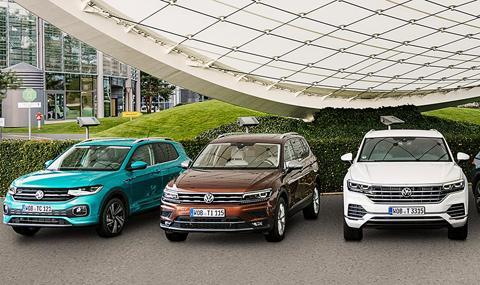 Volkswagen ще се отървава от кросоувърите