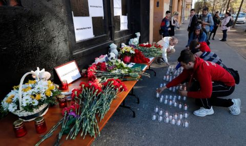 Радев изрази съболезнования на Путин по повод трагедията в Казан