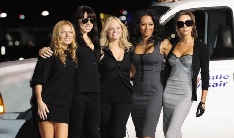 Идилия в Spice Girls - Виктория Бекъм поздрави Мел Си