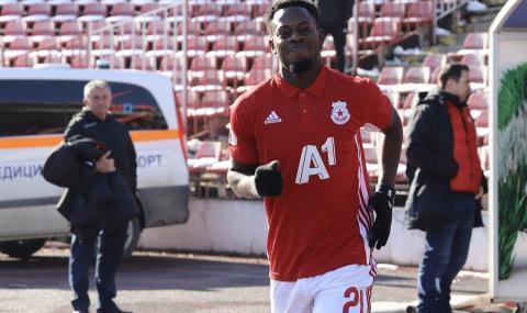 Ганаец от ЦСКА бързо предаде отбора, иска да играе за турски гранд