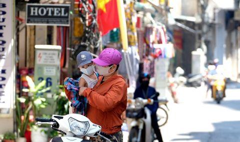 Виетнам: доскоро почти без коронавирус. Сега с виетнамска мутация