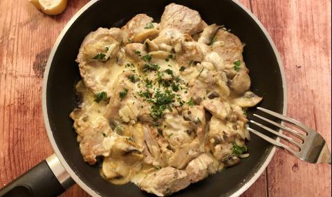 Рецепта за вечеря: Пилешко филе