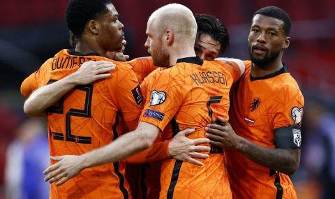 Нидерландия се справи с Латвия в мач с публика