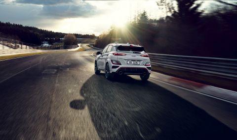 Hyundai представи най-мощнатa Коna  - 5