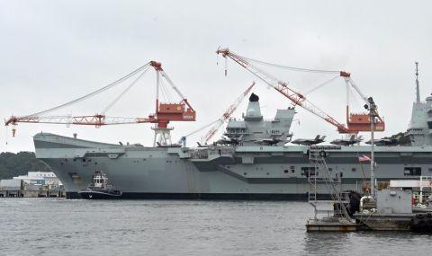 За пръв път Queen Elizabeth влезе в японско пристанище - 1