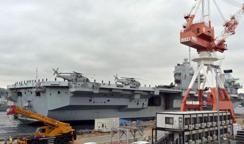 За пръв път Queen Elizabeth влезе в японско пристанище - 2