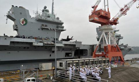 За пръв път Queen Elizabeth влезе в японско пристанище - 3