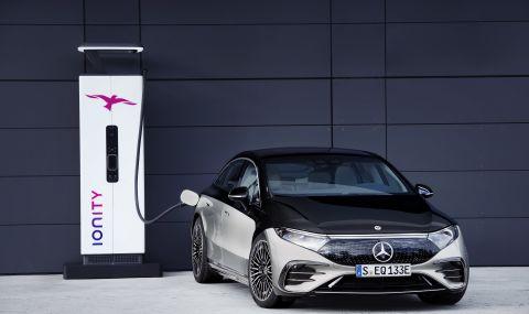 Mercedes представи електрическата S-Klasse - 3