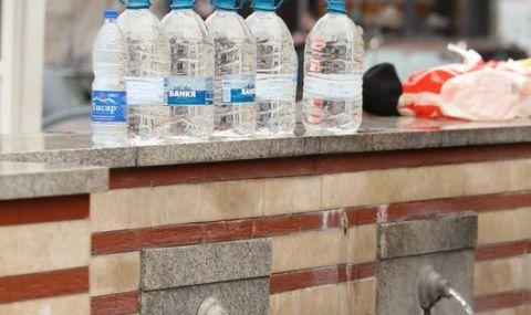 Мътна вода остави град на сухо