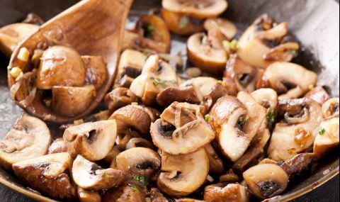 Рецепта за вечеря: Гъби в масло