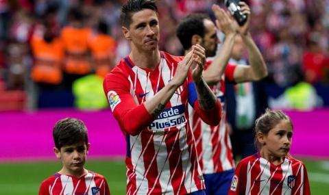 Фернандо Торес започва треньорската си кариера в Атлетико Мадрид