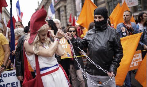 Европа на бунт срещу задължителната ваксинация