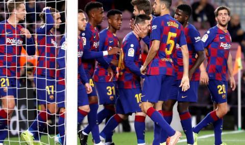 Барселона се разделя с цели 8 играча