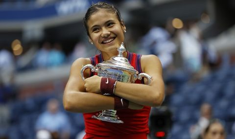 """Тя успя! 18-годишната Радукану е """"новата кралица"""" на US Open - 1"""
