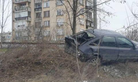 Шофьори се скараха на паркинг в Казанлък, последва гонка и катастрофа