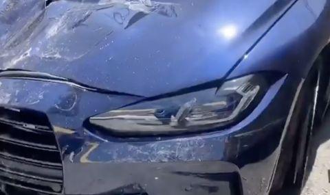 Първа катастрофа с новото M3