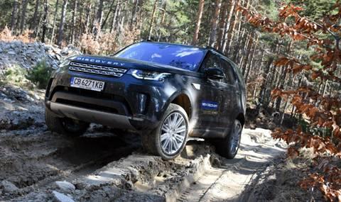 Тест на новия Land Rover Discovery