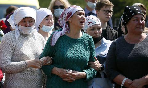 """""""Избягахме през оградата"""": оцелели от стрелбата в Казан за преживения ужас"""